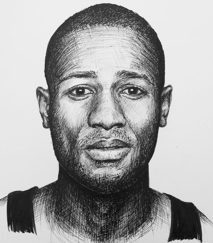 Learn how to draw portraits like this with nothing other than a couple of fine liner pens. Course now on ArtTutor.com