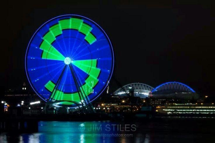 The Wheel, night before big game