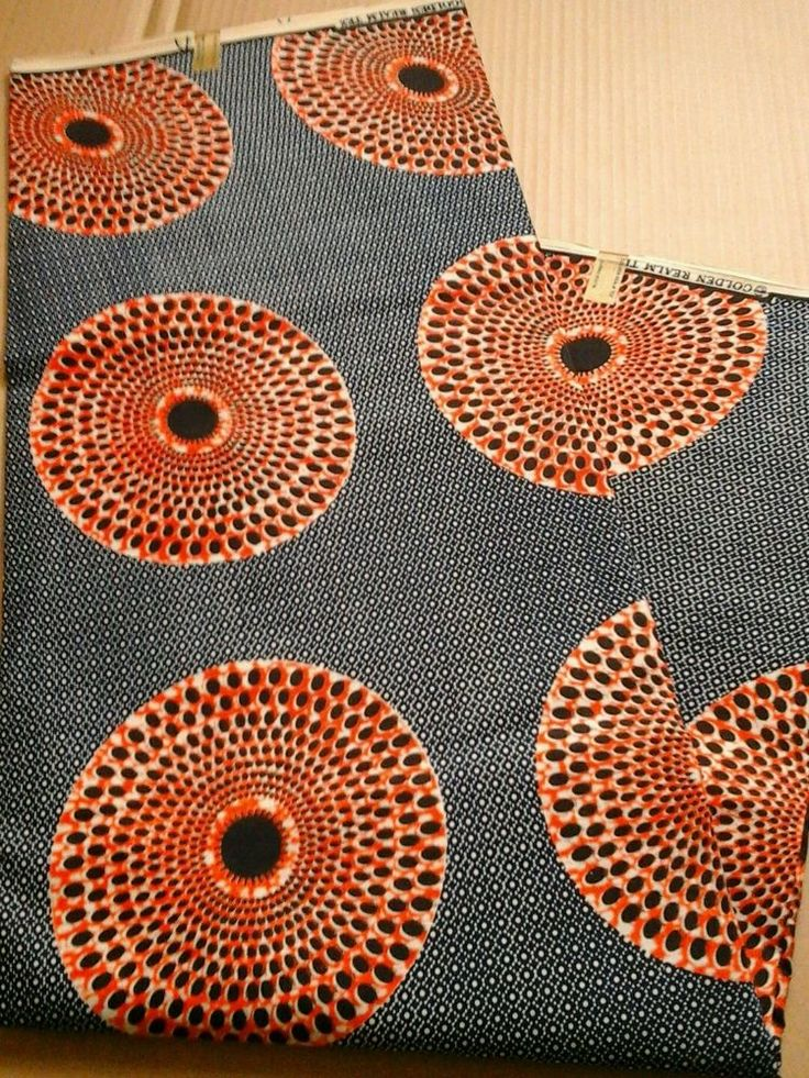 African Print Cotton Fabric, Whole 6 Yards, Craft, Vintage, Tribal in Crafts, Sewing & Fabric, Fabric   eBay