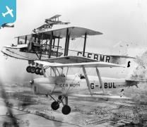 Slough, seven aircraft of the National Aviation Day Display team in flight inclu...