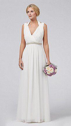 Ava Grecian Bridal Dress http://www.weddingheart.co.uk/debenhams---wedding-dresses.html