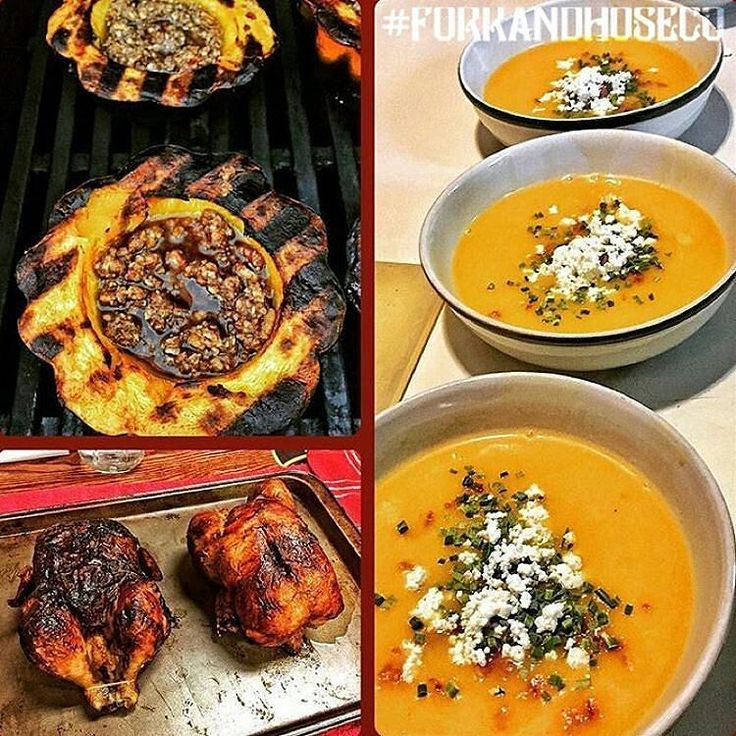 FEATURED POST  @forkandhoseco -  This impressive fall menu comes from a firehouse...yes a firehouse. Rotisserie Chicken / Grilled Acorn Squash with a  Maple Pecan Butter Sauce / Butternut Squash Soup with Bacon Goat Cheese and Chives  Well done @brianbastinelli - Harrisburg Bureau of Fire !  Dont forget to tag us @forkandhoseco! @chief_miller @555fitness @the_firefighter_throwdown #forkandhoseco #firehousecookin  #firefighterfit #555fitness #555eats #555chef #firehousechef #IAFF…