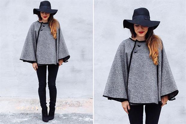 Capas, la prenda indispensable del invierno  Las capas serán el nuevo ítem de moda del invierno.