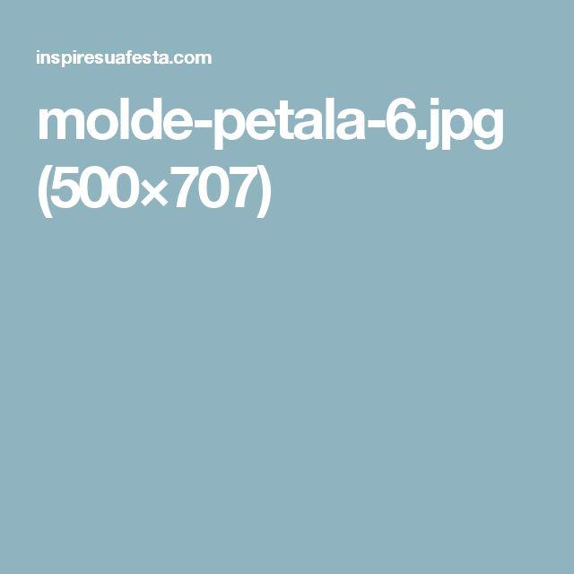 molde-petala-6.jpg (500×707)