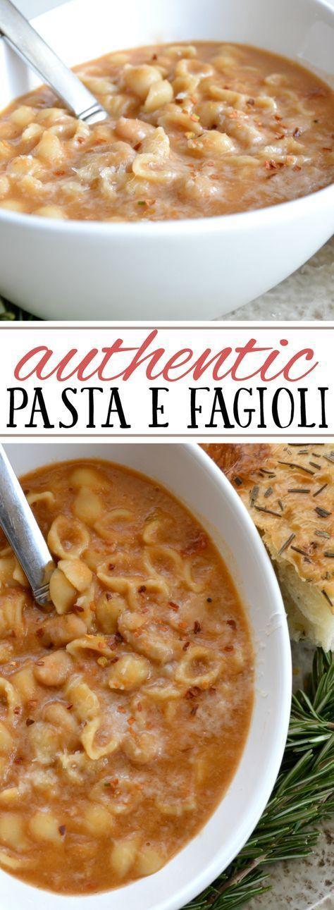 Authentic Pasta e Fagioli