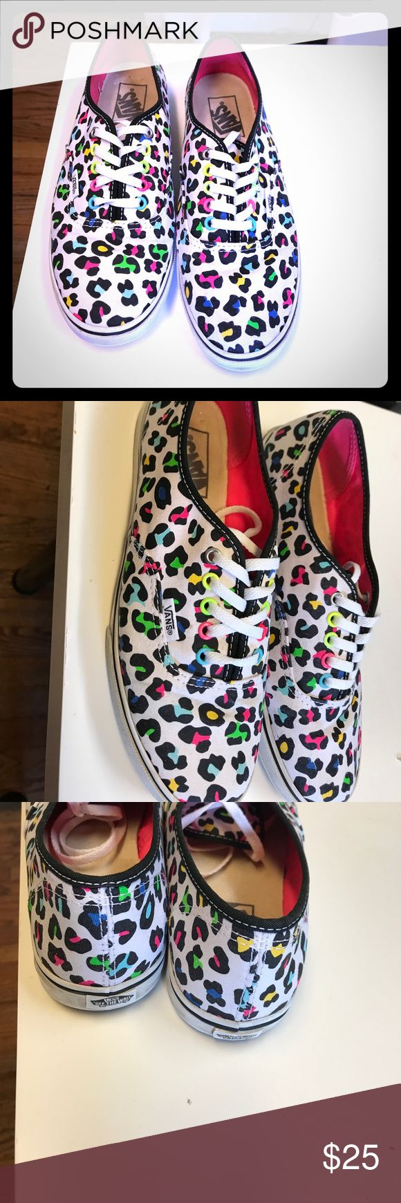 Vans Tennis Shoes -Sz 7.5 Excellent condition Vans Shoes Sneakers