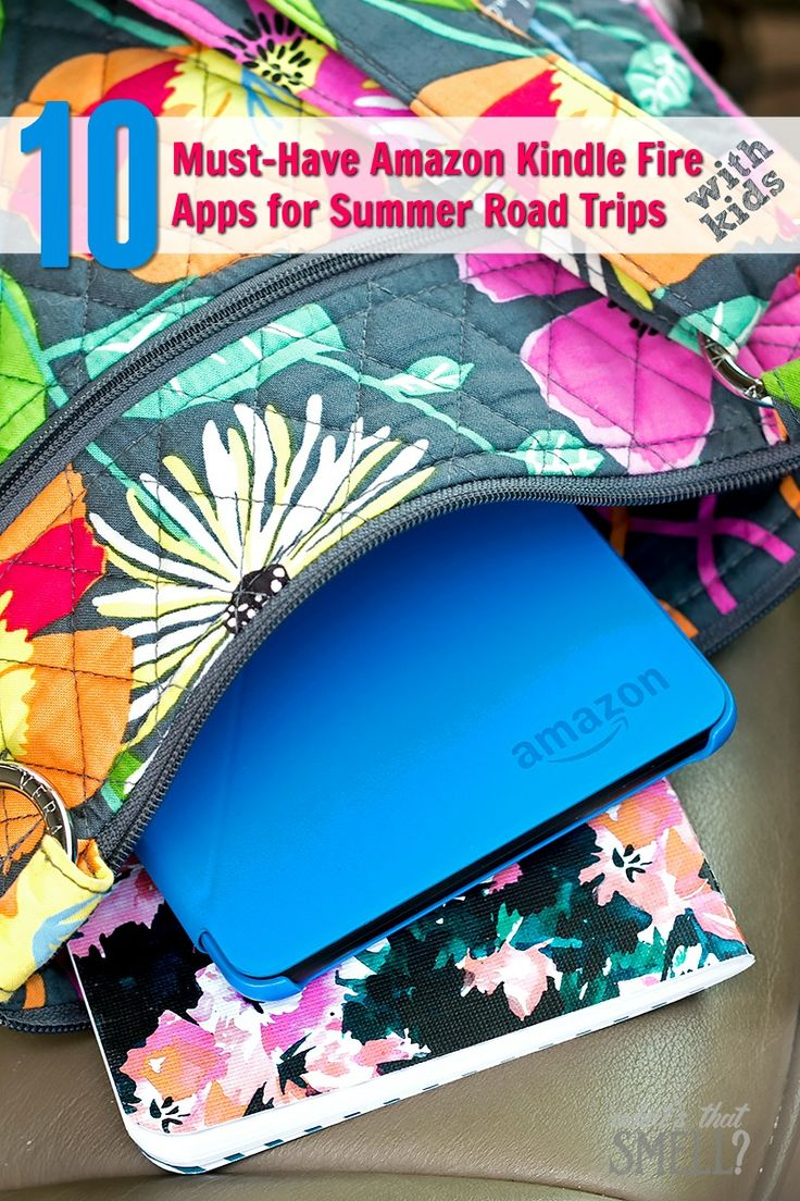 10 Must-Have Amazon Kindle Fire Apps for Summer Road Trips - Road Trips aren't like they used to be! A Kindle Fire tablet and these 10 must-have apps will make your summer road trips with kids fun and unforgettable. #AmazonFire (sponsored) #IC