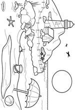 Kids-n-fun | 10 coloring pages of Landscapes