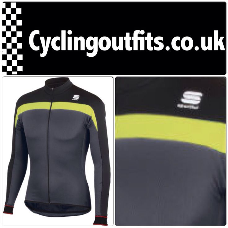 Ride in style with this thermal Sportful Pista jersey.
