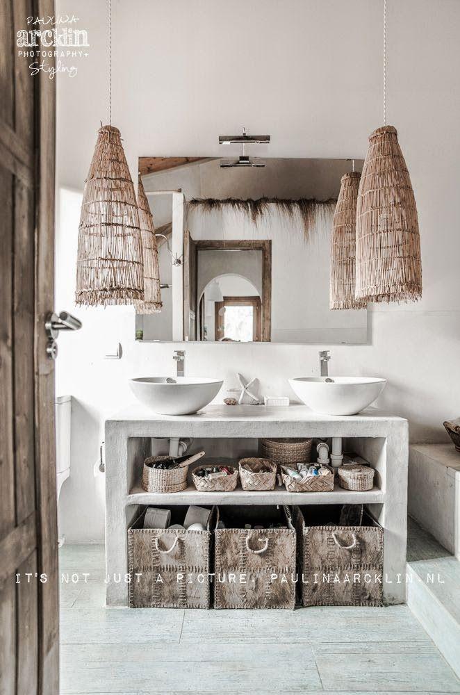 Salle de bains Mallorca Regard et maisons via Nat et nature