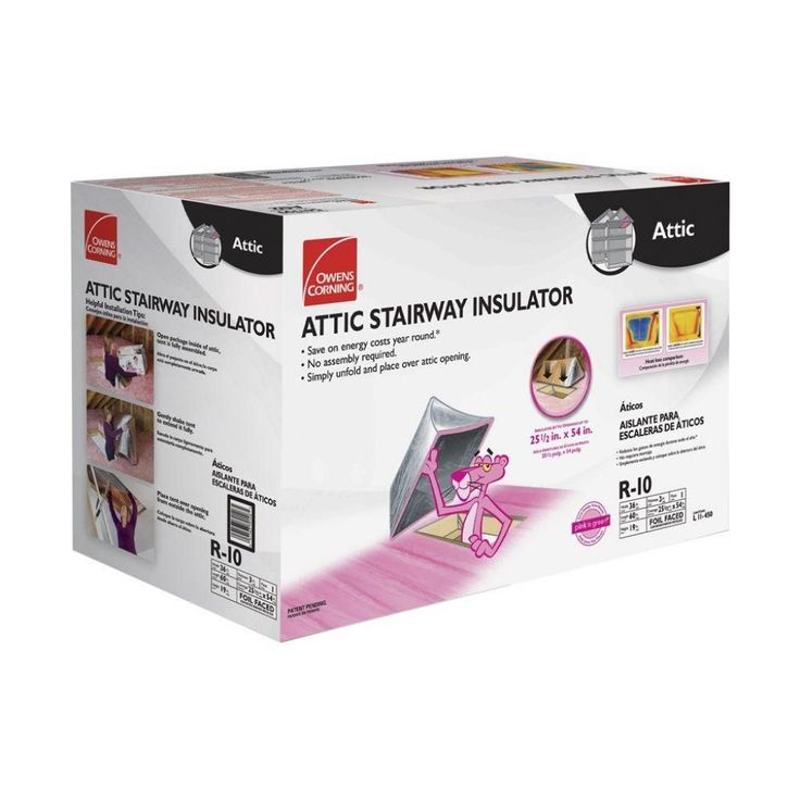 Superior Owens Corning Attic Stair Insulator II In. X 54   The Home Depot