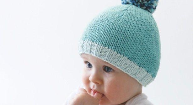 Patron Bonnet de Bébé #tricot