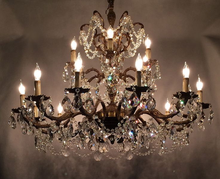 743 best I have SEEN the light! images on Pinterest | Chandelier ...