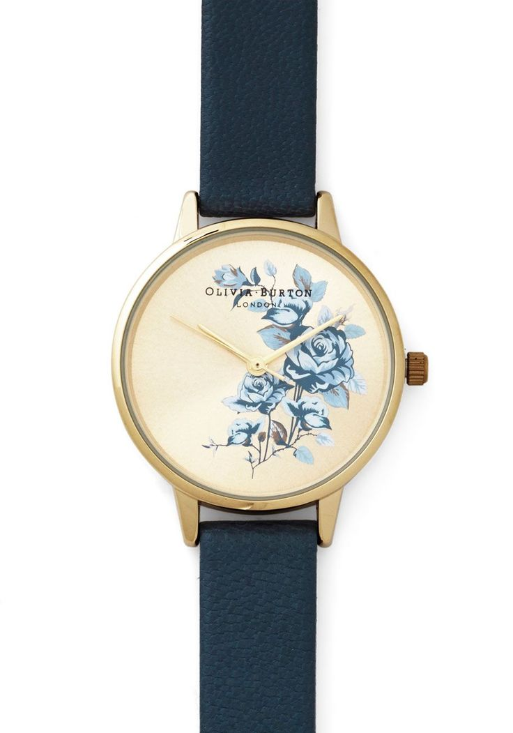 Flowers Fly By Watch. Time flies when youre having fun and by the time you glance down at your Olivia Burton watch, half the evening is over!  #modcloth