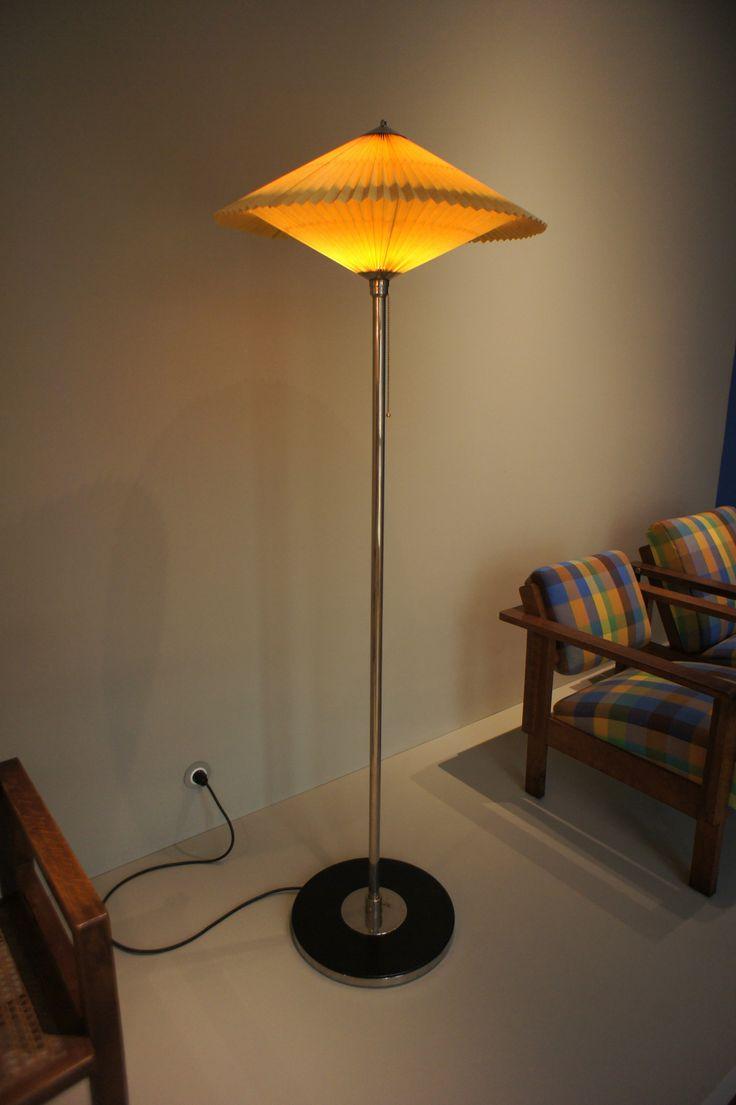 Bauhaus pendant lamp marianne brandt and hans przyrembel 1925 - Richard Winkelmayer 1927 Floor Lamp Modell 11 Deutsche Moderne Bauhaus Stehleuchte Modell 11 Richard