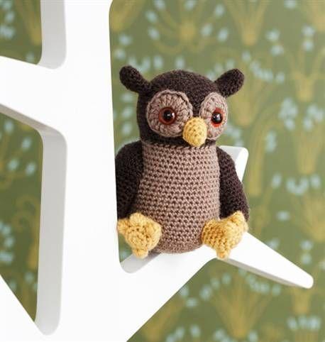 Virkkaa amigurumi: pöllömaskotti | Kotivinkki