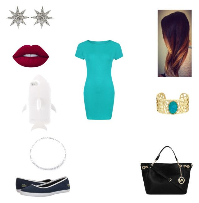 """""""Untitled #207"""" by winou17 on Polyvore featuring WearAll, Lacoste, Michael Kors, Laundry by Shelli Segal, Bee Goddess, STELLA McCARTNEY and Lime Crime"""