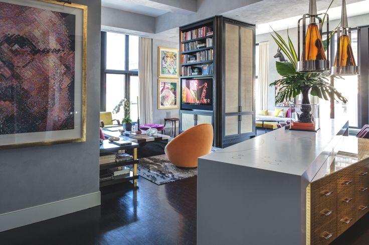 Jamie Drake S Trendy New York Apartment Interior Design Pinterest Apartments Living Rooms