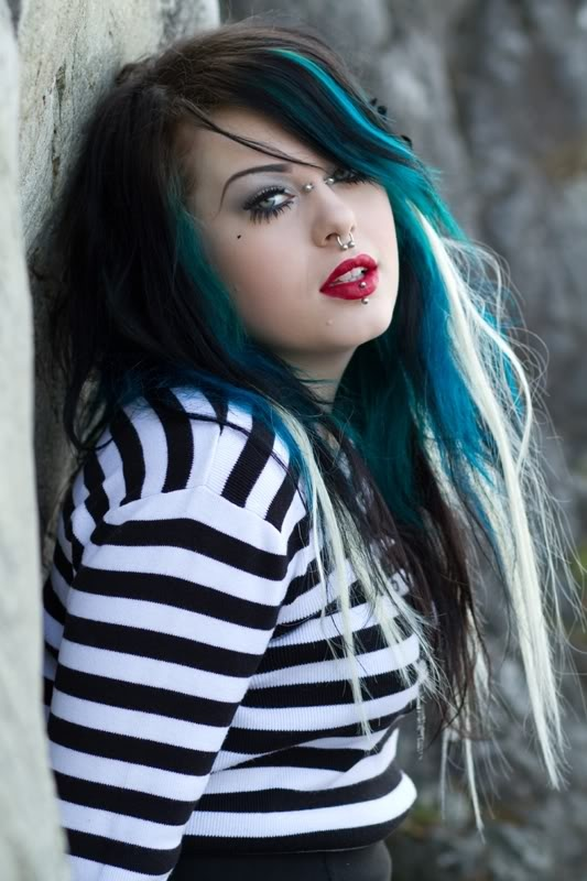 100 Ideas To Try About Hair Streak Her Hair Black And