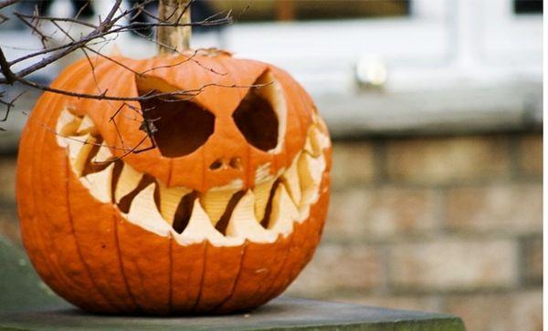 helloween kürbis deko