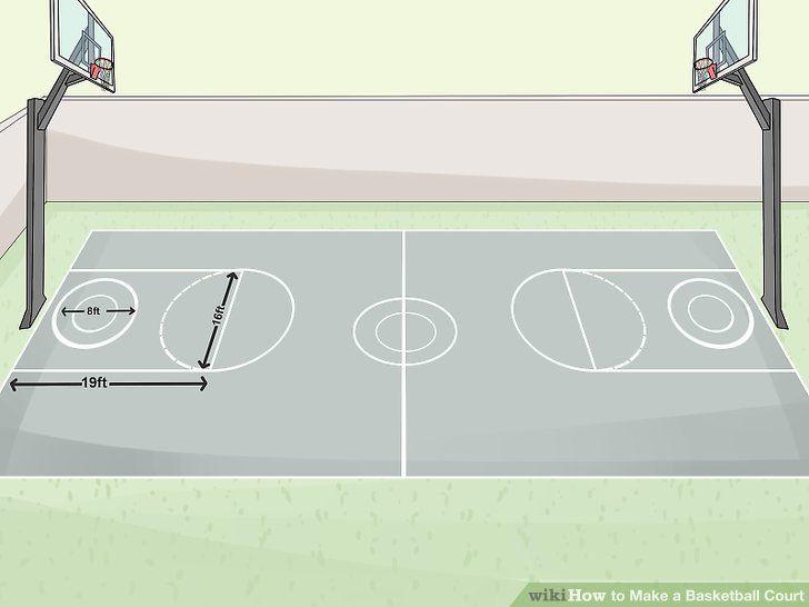 How To Make A Basketball Court Basketball Court Basketball Hoop Diy Basketball