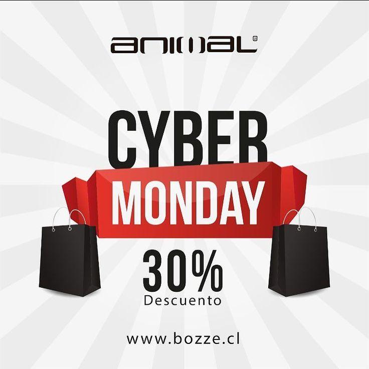 Aprovecha #cybermonday en www.bozze.cl usa el código CYBER y tendrás un 30% de descuento. #ropa #tienda #moda #mujer #hombre #verano #animaluk