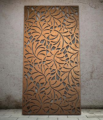 Botanical | Miles and Lincoln | Laser cut screens | Laser cut panels