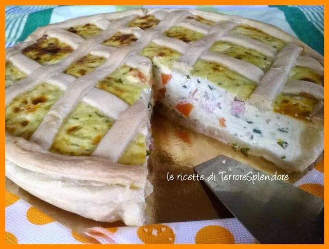 Le ricette di TerroreSplendore: Pastiera salata