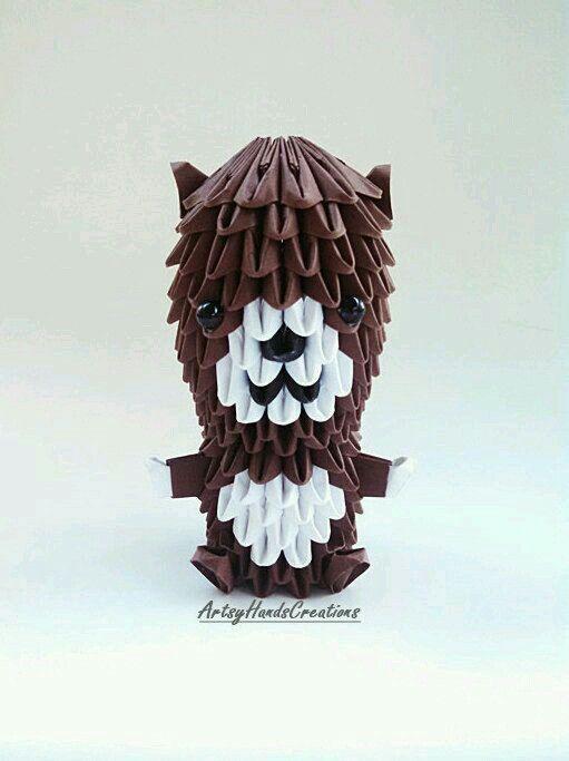 Origami Mini Bears Small By ArtsyHandsCreations
