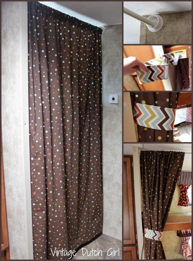 Curtain divider | camping | travel trailer | Pinterest