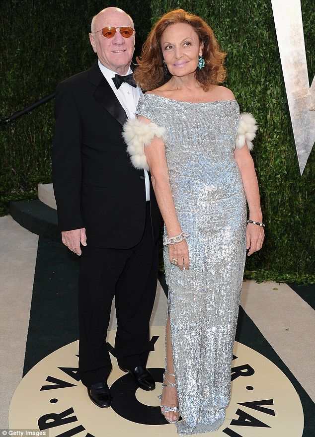 Best of friends: Fashion mogul Diane von Furstenberg has opened up about her unconventional marriage to media tycoon Barry Diller, who boast...