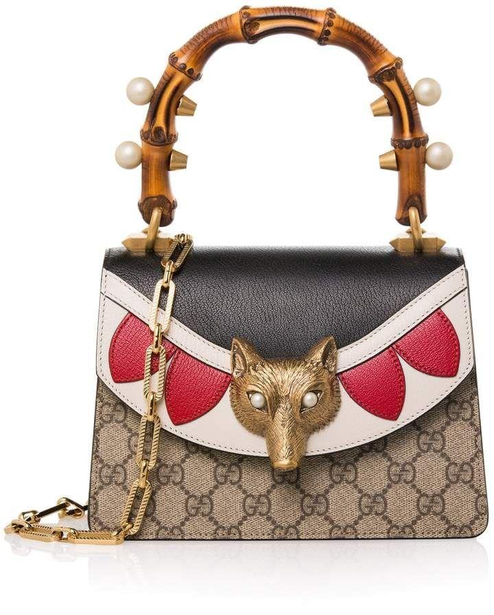 b5dfd158fe4 Gucci Broche GG Supreme Shoulder Bag #gucci #ShopStyle #MyShopStyle click  link for more information