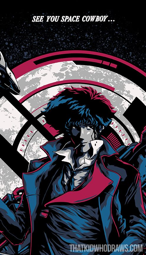 I just finished Cowboy Bebop today!  And I must say, that I really enjoyed this animated masterpiece.  I highly recommend it to everyone who has never seen anime before, or just looking for something fun to watch.