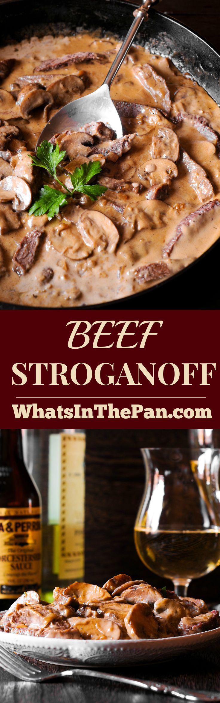 Beef Stroganoff #beef #dinner