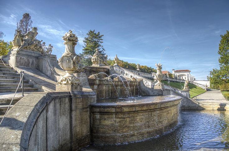 Zámecká zahrada, Neptunova fontána