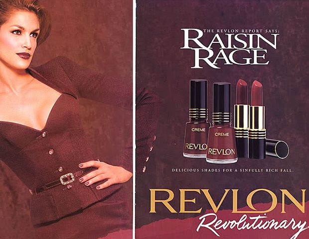 @Byrdie Beauty - Revlon Lipstick ($5) Depending on the year and your clique—goth, raver, cheerleader—you had your must have shade of Revlon lipstick. Raven Red, Toast of New York, Rum Raisin, Wine with Everything, Cherries in the Snow, and Toasted Brownie were the favorites.