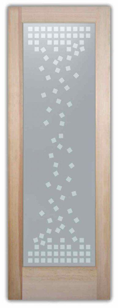 Falling Squares Interior Glass Doors Sans Soucie