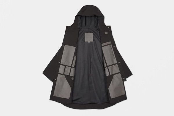 Limited edition waterproof poncho by The Arrivals' and Snarkitecture