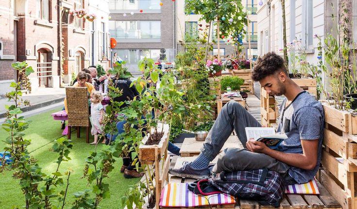 都市は人々のボトムアップによってつくられる!ベルギー・へントの「Leefstraten」アイデアで変わるストリート   ソトノバ   Sotonoba.place