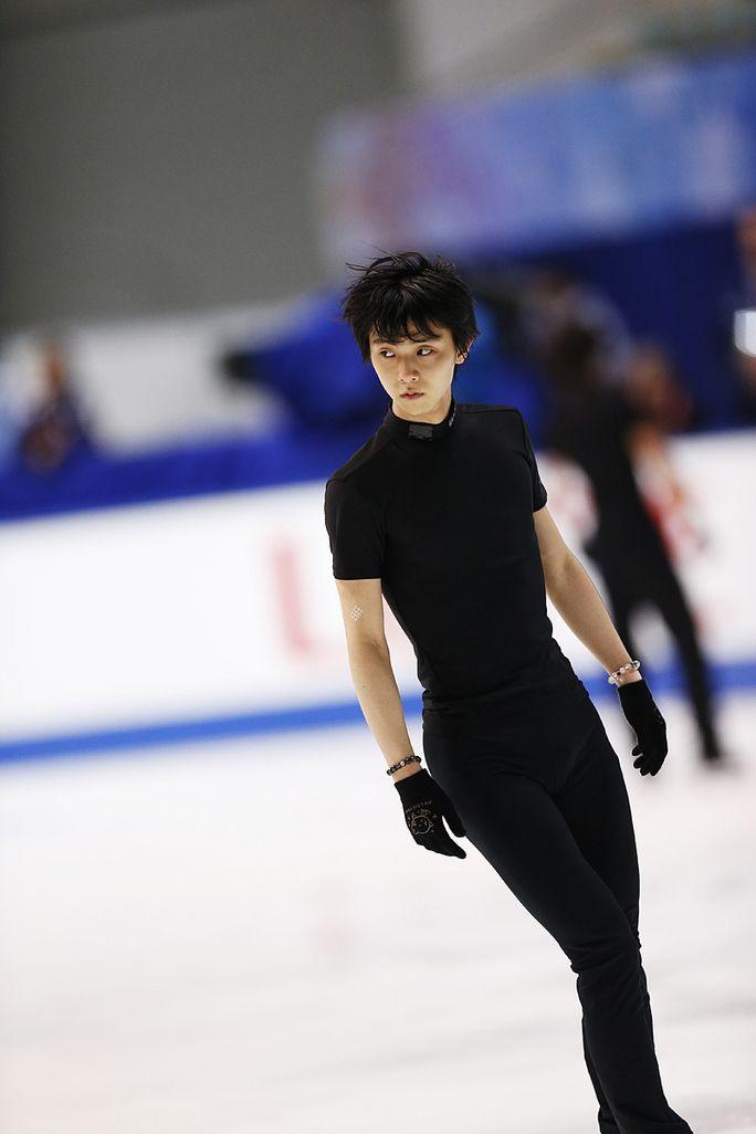 #NHK Trophy 2014 Practice. Photo by #Sunao #Noto