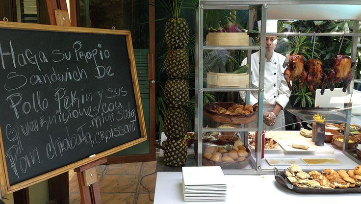 Presentación del nuevo concepto de Coffee Break en el Grand Tikal Futura Hotel por el Chef Christian Jean. Experiencia Nuchef. Fotografía y texto por Brenda Cervantes.