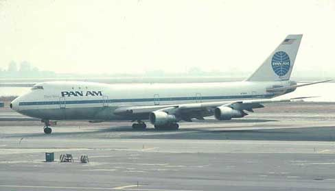 The Pan AM 747-121 involved in the 1977 Tenerife Airport Disaster