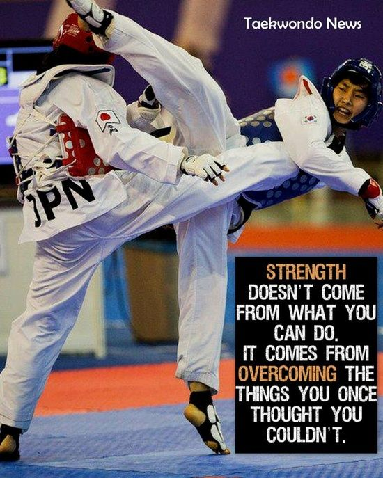 In five years of Taekwondo, I have learned more abou myself and about life in general than I ever could have learned by myself. Greatest sport in the world.  -Puja