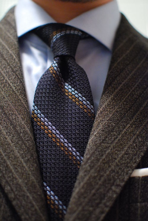 Boys tie small pre-tied - Woven Jacquard silk in solid grey Notch ihuIQTYHN