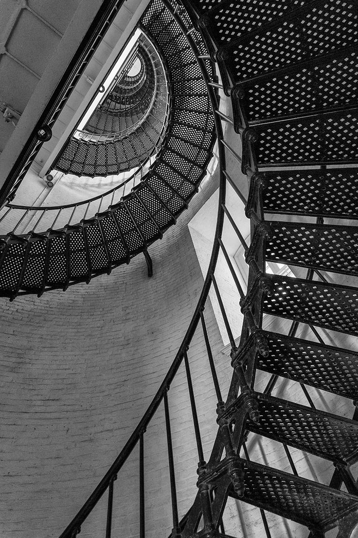 Spiral Stairs Inside the St. Augustine Lighthouse (A0020095)