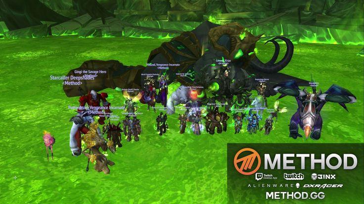 The nerdscreams from Method after killing Avatar. #worldofwarcraft #blizzard #Hearthstone #wow #Warcraft #BlizzardCS #gaming