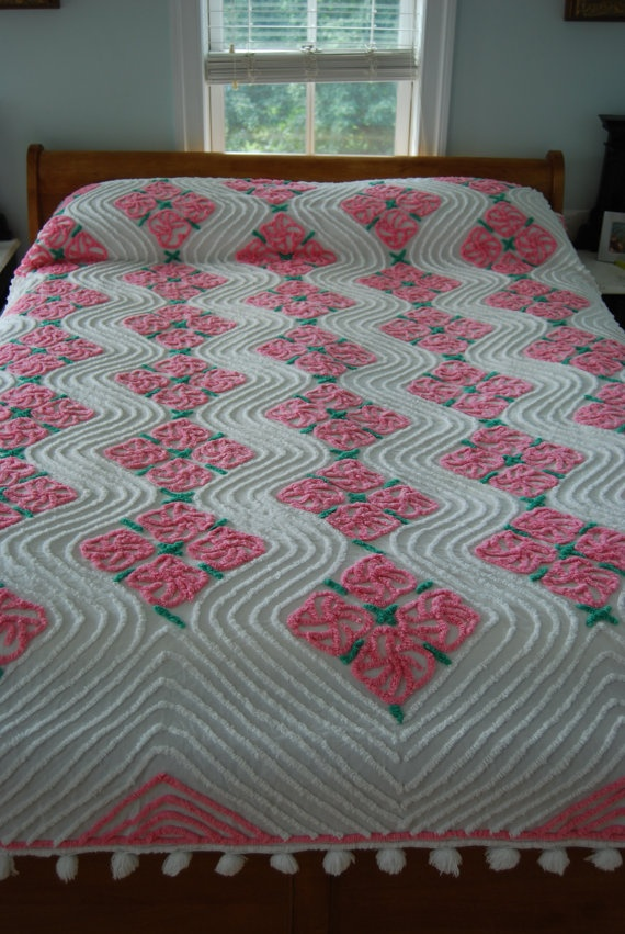 45 Best Images About Chenille Bedspreads On Pinterest