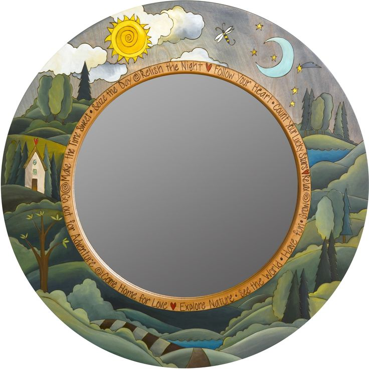 Best 25+ Circle mirrors ideas on Pinterest | Large circle ...