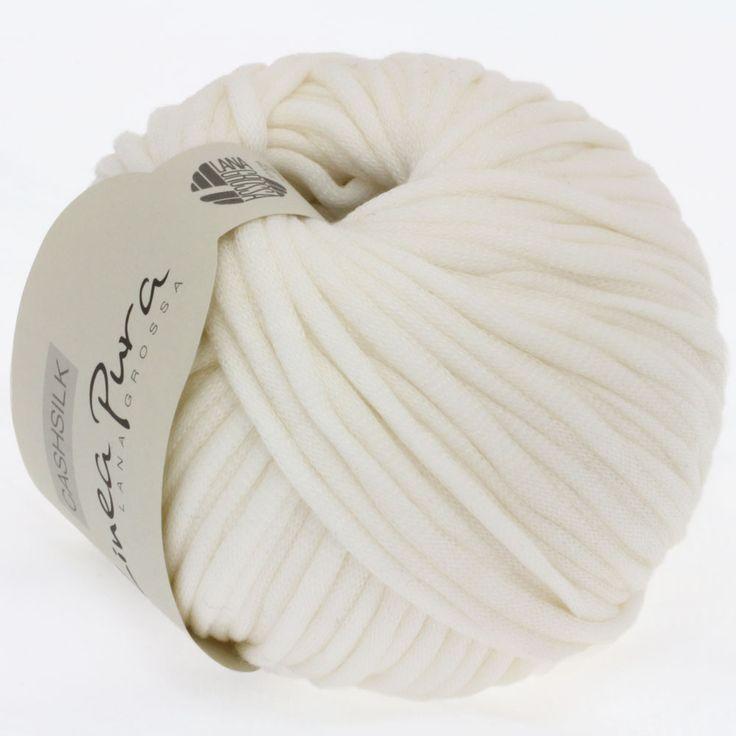CASHSILK (Linea Pura) 08-raw white