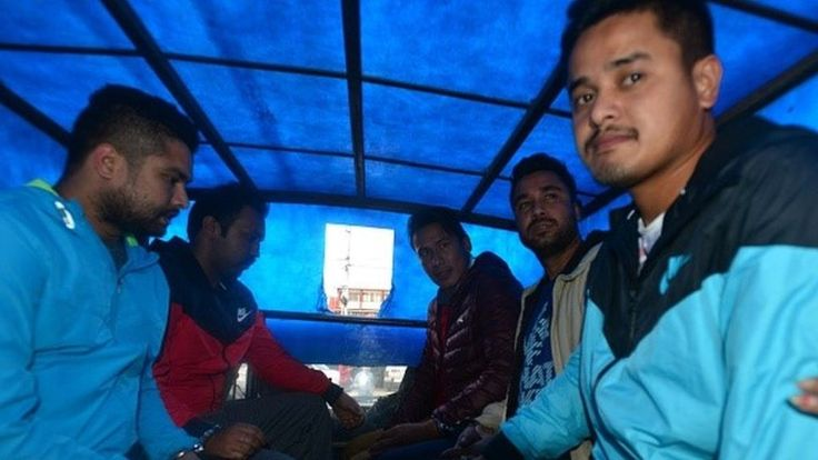 Five Nepali footballers have been charged with treason over allegations of match-fixing during the 2011 World Cup police said.